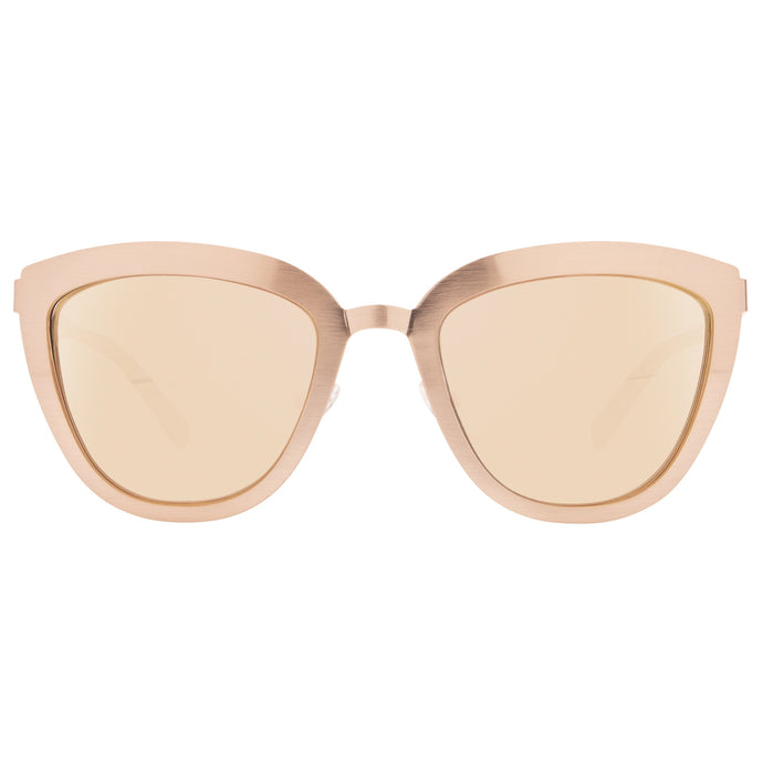 LILLY ROSE GOLD + TAUPE FLASH MIRROR POLARIZED LENS