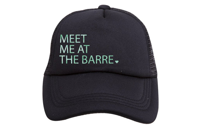 MEET ME AT THE BARRE TRUCKER