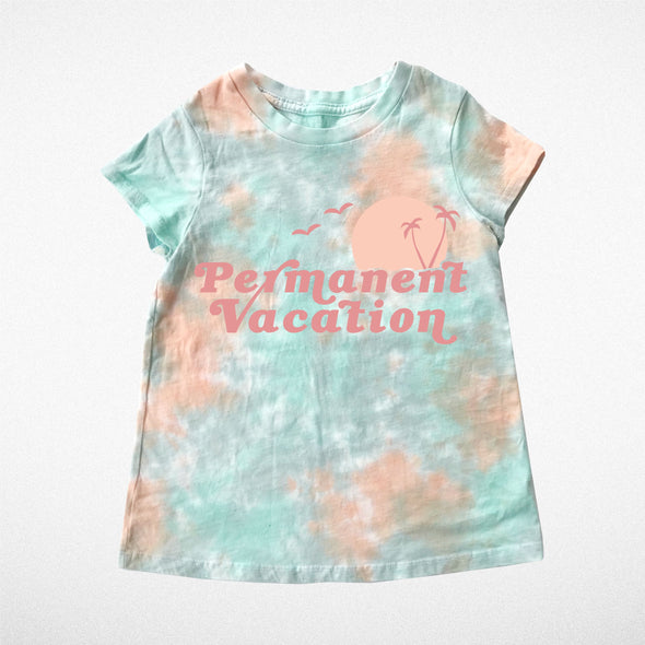 PERMANENT VACATION TIE DYE TEE