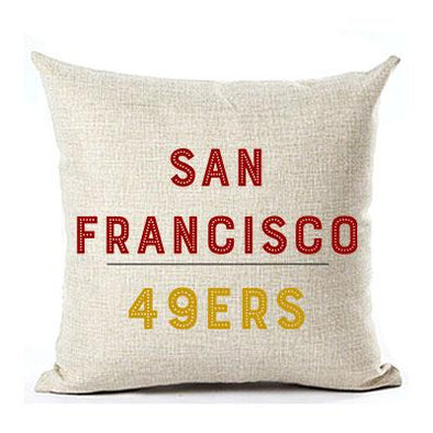 SAN FRANCISCO 49ERS PILLOW