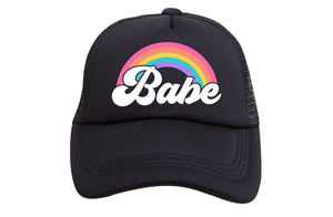 BABE RAINBOW TODDLER TRUCKER