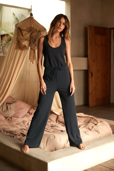 JULIETTE JUMPSUIT - VINTAGE BLACK