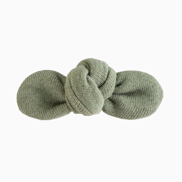 SEA GREEN KNOTTED BOW
