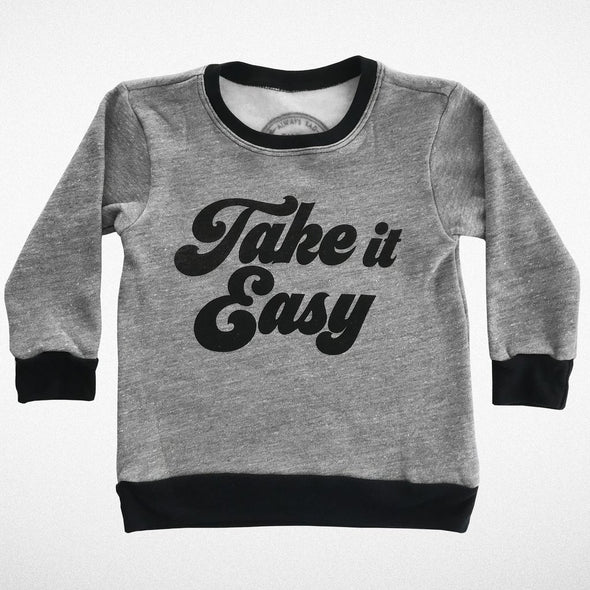TAKE IT EASY SWEATER