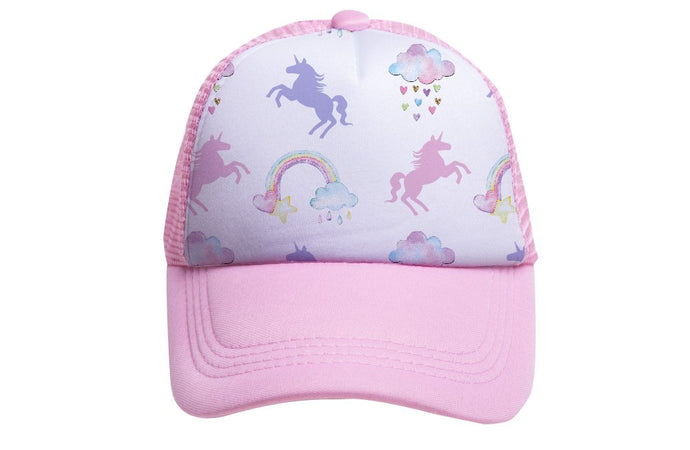 RAINBOWS & UNICORNS BABY  TRUCKER