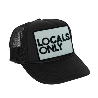 LOCALS ONLY VINTAGE LOW RISE TRUCKER HAT