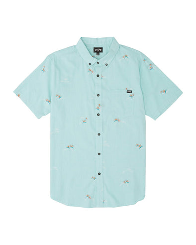 BIG BOYS' SUNDAYS MINI SHORT SLEEVE SHIRT