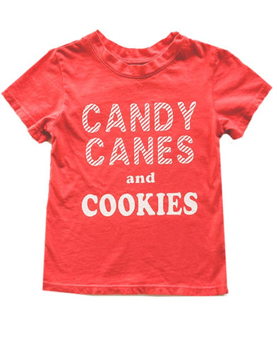CANDY CANES & COOKIES TEE