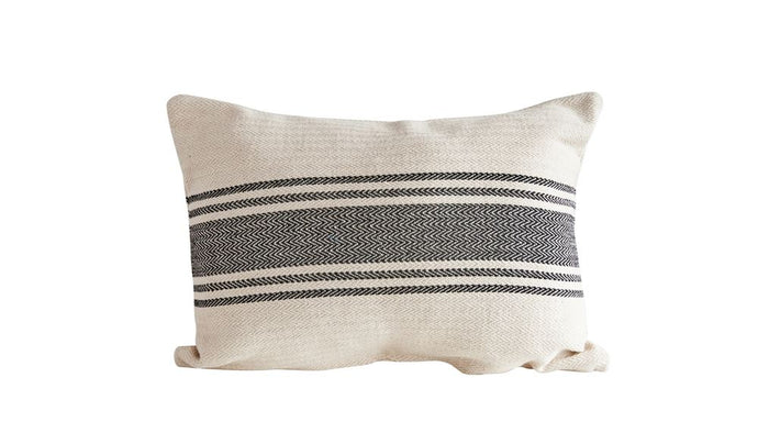 COTTON CANVAS PILLOW