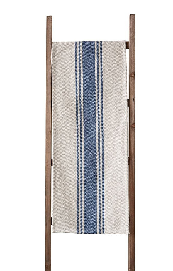 COTTON CANVAS TABLE RUNNER - BLUE