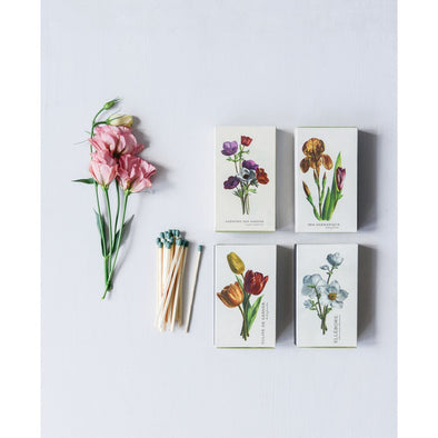 FLORAL PRINT SAFETY MATCHBOX