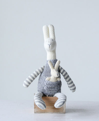 COTTON KNIT KANGAROO WITH BABY