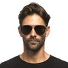 DASH MATTE BLACK + SOLID GREY POLARIZED LENS