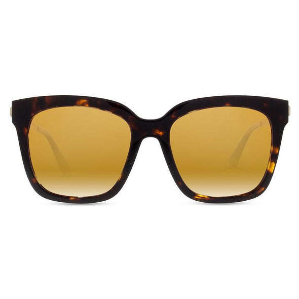 BELLA TORTOISE + GOLD FLASH POLARIZED LENS