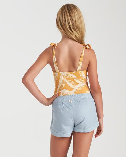 MAD FOR YOU SHORTS-CHAMBRAY