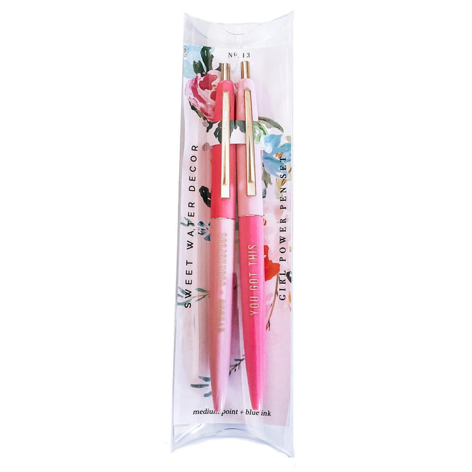 GIRL POWER PEN SET