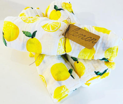 LEMON MUSLIN SWADDLE