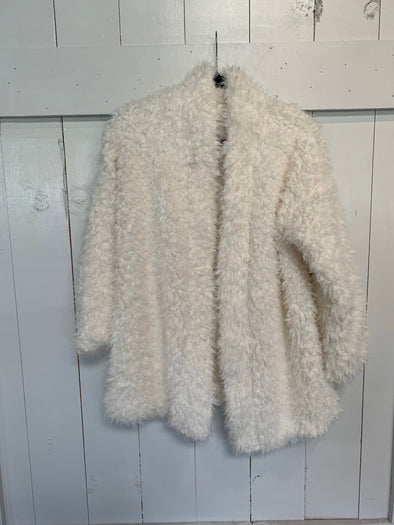 SNOW BUNNY CARDIGAN - SWEET CREAM