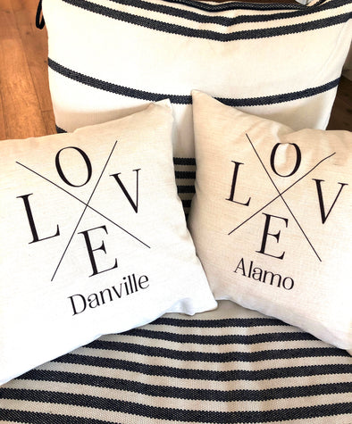 LOVE TOWN PILLOWS