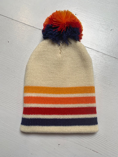 PEOPLES CHAMP POM POM BEANIE