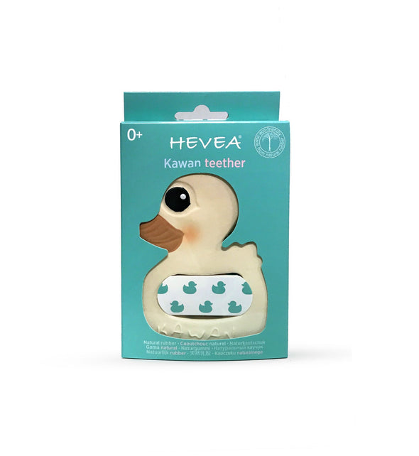 HEVEA BABY KAWAN DUCK TEETHER