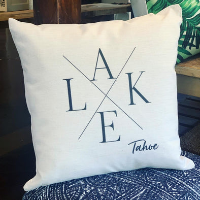 LAKE TAHOE PILLOW