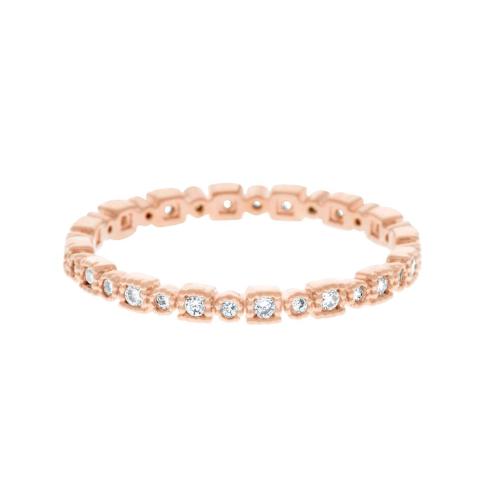 TROY RING: ROSE GOLD
