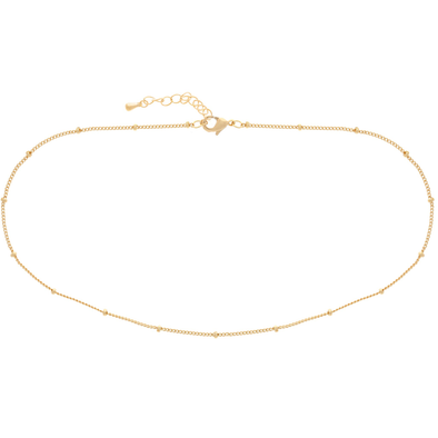 SATELLITE CHOKER: GOLD