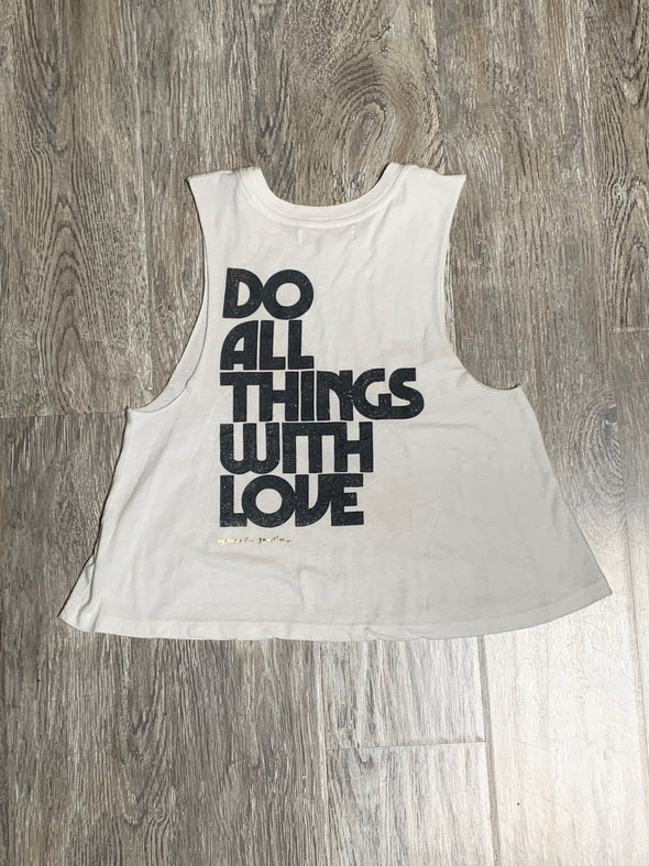 SPIRITUAL GANGSTER WITH LOVE CROP TANK