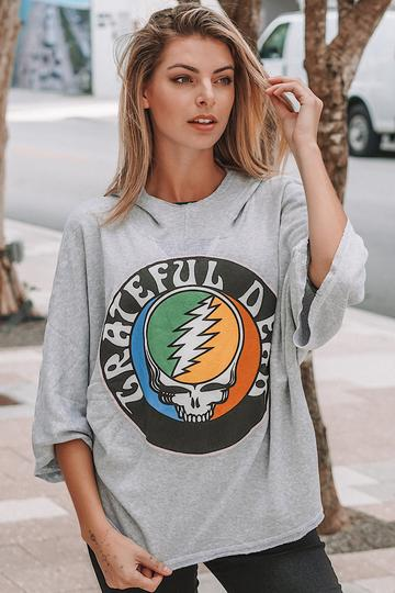 GRATEFUL DEAD PONCHO SWEATER