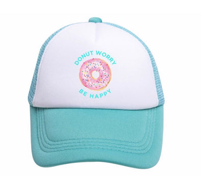 DONUT WORRY BE HAPPY TODDLER TRUCKER