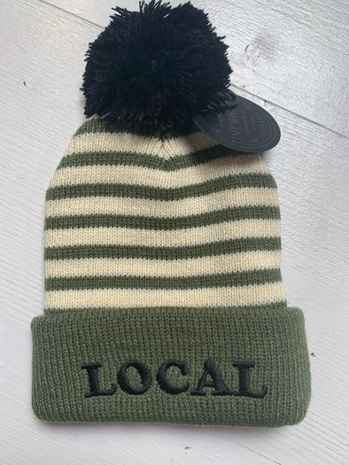LOCAL POM POM BEANIE