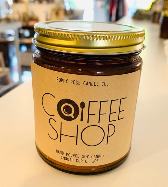 COFFEE SHOP 100% SOY CANDLE