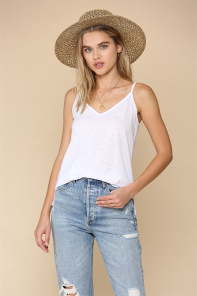COTTON WHITE TANK