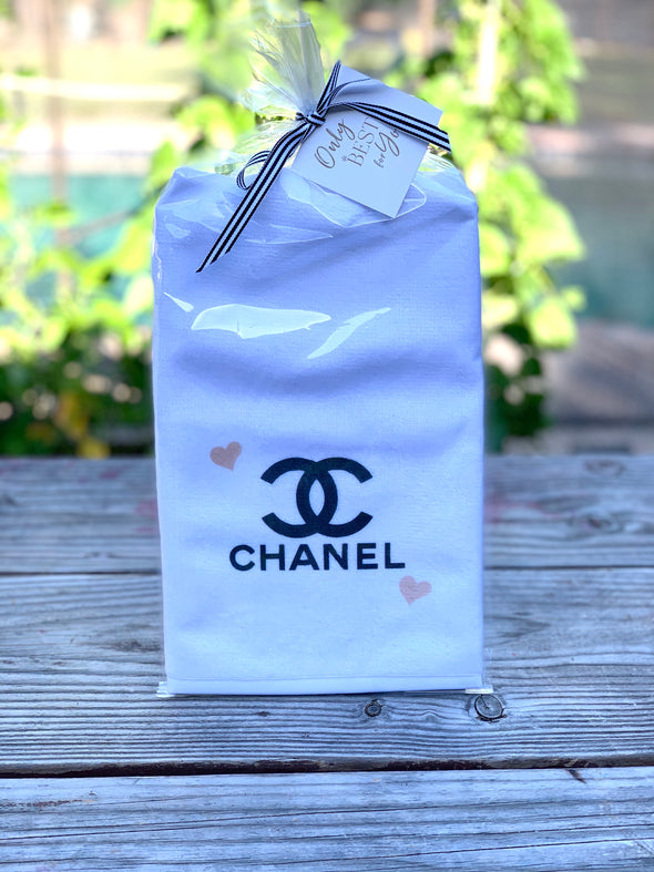 CHANEL HAND TOWEL