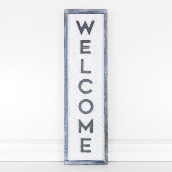 WELCOME DOUBLE SIDED SIGN