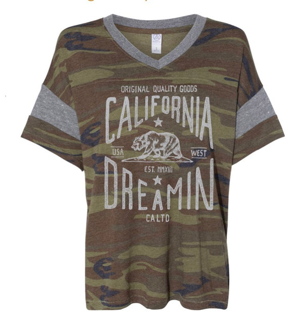 CALIFORNIA DREAMIN CAMO GAME DAY