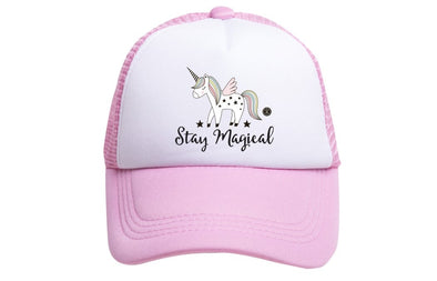 TODDLER STAY MAGICAL TRUCKER