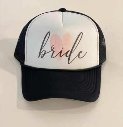BRIDE HEART TRUCKER HAT