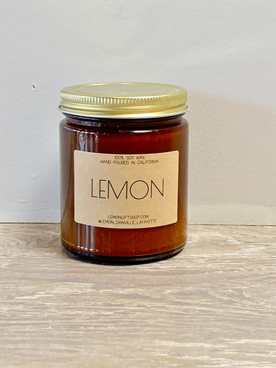 'LEMON' CANDLE