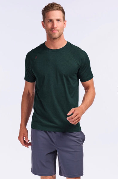 ATHLETIC SHORT SLEEVE SHIRT - PONDEROSA PINE