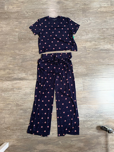 ALL AMERICAN PANT PJ SET - SILENT NIGHT CANDY