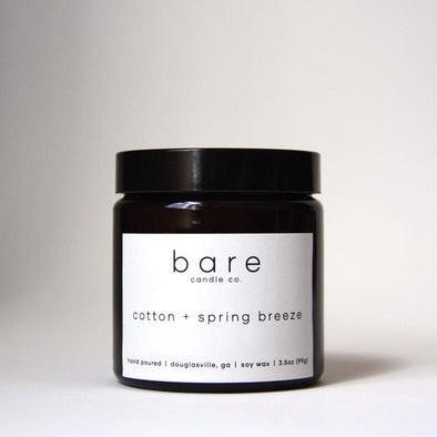 COTTON + SPRING BREEZE CANDLE