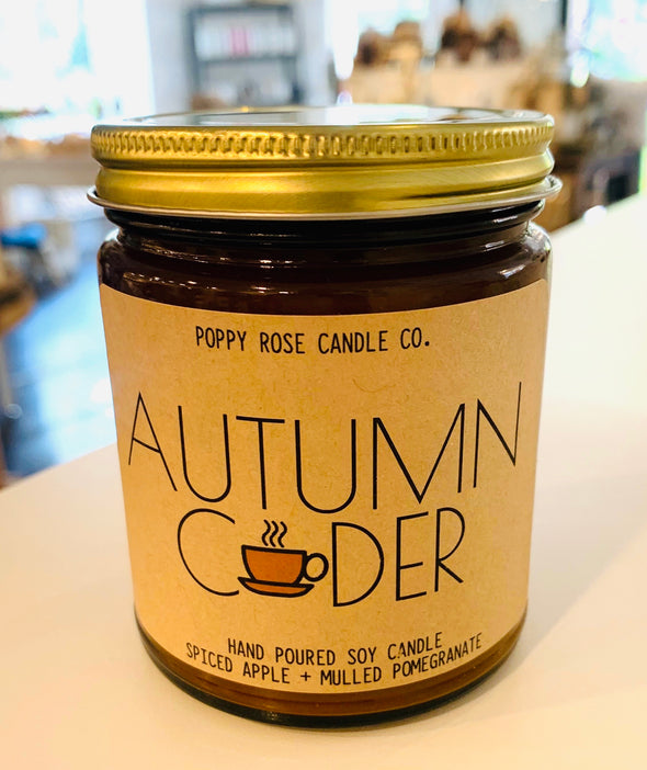 AUTUMN CIDER 100% SOY CANDLE
