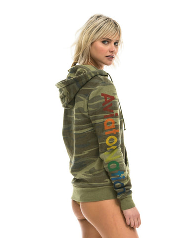 AVIATOR NATION CAMO ZIP HOODIE