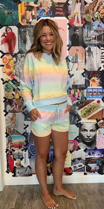 SUMMER LOVE SWEATSHIRT - RAINBOW