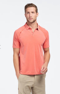 MEN'S POLO GOLF SHIRT - ROJO