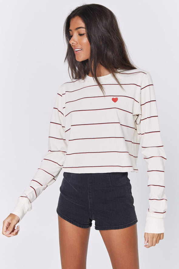 HEART FIONA LONG SLEEVE TEE