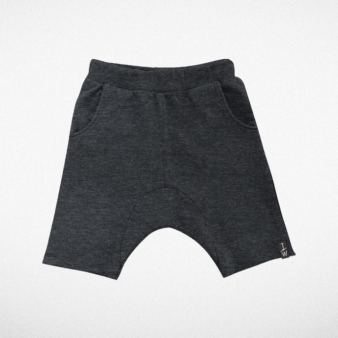 COZY TIME SHORTS - CHARCOAL