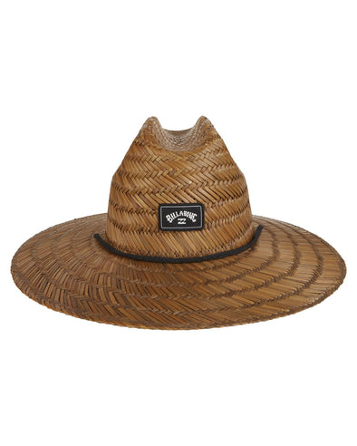 TIDES STRAW LIFEGUARD HAT-BROWN